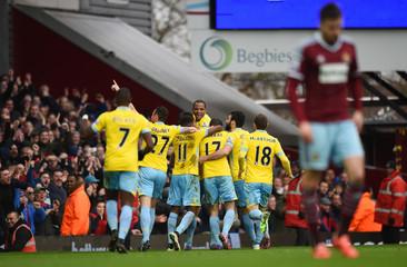 West Ham United v Crystal Palace - Barclays Premier League