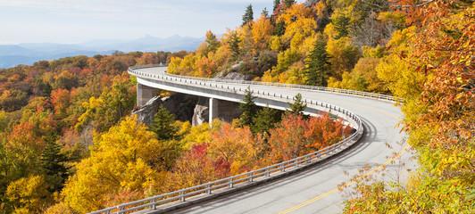 Linn Cove Viaduct Blue Ridge Parkway