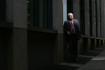 Keith Wright, senior adviser at Pohjola Asset Management Execution Services poses for a photograph in central London