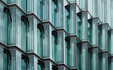 modern office building glass facade Fototapete