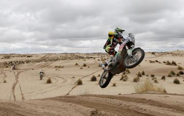 Dakar Rally - 2017 Paraguay-Bolivia-Argentina Dakar rally - 39th Dakar Edition - Seventh stage from Oruro to Uyuni, Bolivia.