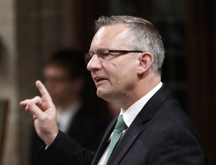 Canada's International Trade Minister Fast speaks during Question Period in the House of Commons on Parliament Hill in Ottawa