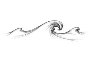 Welle auf dem Meer