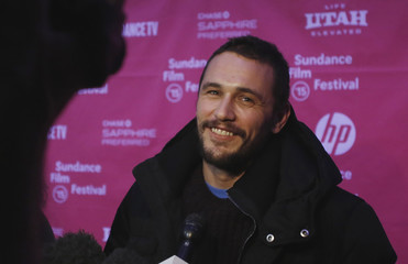 """Actor James Franco attends the premiere of the film """"True Story"""" at the Sundance Film Festival in Park City, Utah"""