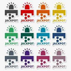 Slot Machine Jackpot - Illustration