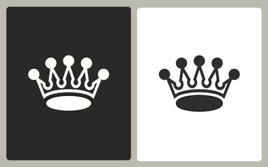 Crown - vector icon.