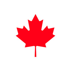 Canada maple leaf icon.