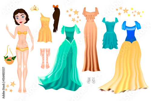 photograph about Printable Paper Doll Body identify Paper dolls with dresses for carving. Printable Paper Doll