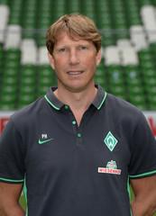 Werder Bremen's  doctor Heitmann is pictured during the official team photo of German Bundesliga first division soccer club Werder Bremen in Bremen