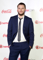 Actor Jack Reynor, recipient of the Rising Star of 2014 award, arrives for the Big Screen Achievement Awards during CinemaCon at Caesars Palace in Las Vegas