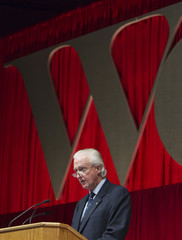 Weston, chairman and president of George Weston Limited, speaks at their annual general meeting for shareholders in Toronto