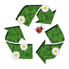 environnement - recyclage - recycler - mot - écologie - pollution - protection - déchets