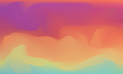 sunset abstract background vector color transfer