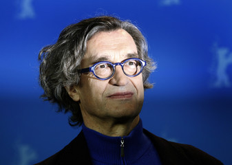 Director Wenders poses during photocall at the 61st Berlinale International Film Festival in Berlin