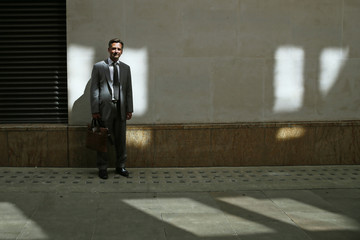 Simo Puhakka, Chief Executive Officer at Pohjola Asset Management Execution Services poses for a photograph in central London