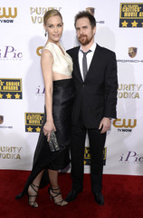 Actors Bibb and Rockwell arrive at the 19th annual Critics' Choice Movie Awards in Santa Monica