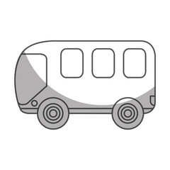 bus van isolated icon vector illustration design