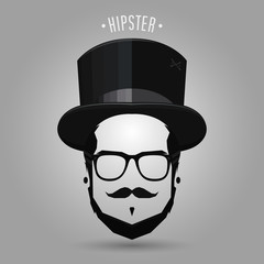 hipster top hat
