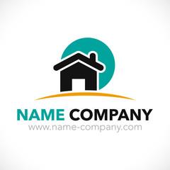 logo maison construction artisan charpentier