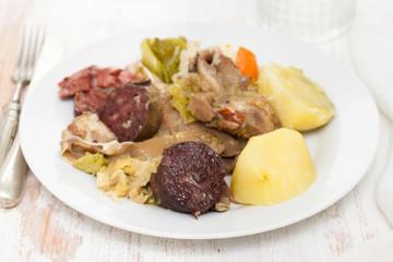 traditional portuguese dish cozido a portuguesa