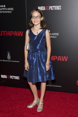 """Actress Oona Laurence attends the premiere of """"Southpaw"""" in New York"""