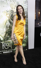 """Lane poses at the premiere of """"Sucker Punch"""" at the Grauman's Chinese theatre in Hollywood"""