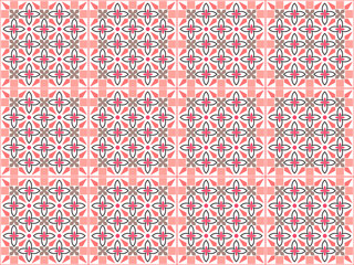 Geometric patterned background