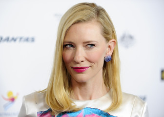 Australian actress Blanchett arrives during the G'Day USA Black Tie Gala in Los Angeles, California