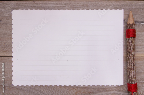 stock photography flat lay template wooden plank table white letter