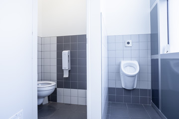 urinal and toilet