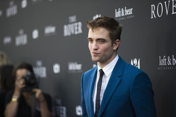 "Cast member Pattinson poses at the premiere of ""The Rover"" in Los Angeles"