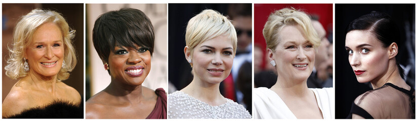 Combination photograph of best actress nominees for the 84th Academy Awards