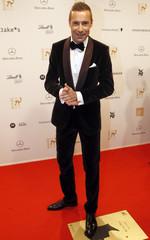 German TV presenter Pflaume arrives for Bambi Awards 2012 in Duesseldorf
