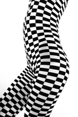Op art Woman Body