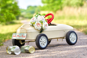 Vermählung - Hochzeitsauto