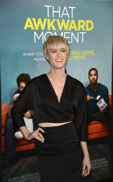 """Mackenzie Davis attends premiere of the film """"That Awkward Moment"""" in Los Angeles"""