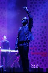 British singer Taio Cruz  performs during the 12th Mawazine World Rhythms international Music Festival in Rabat