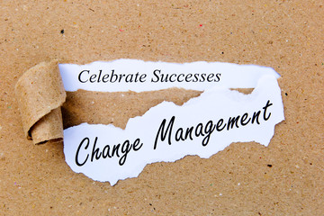 Change Management - Celebrate Successes - successful strategies for change management