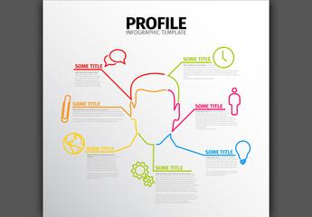 Business Person Infographic Layout