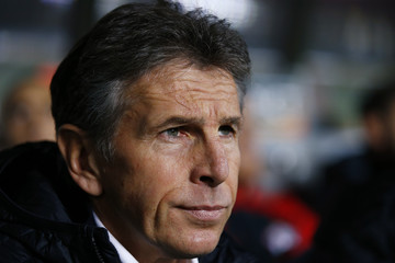 Southampton manager Claude Puel before the match