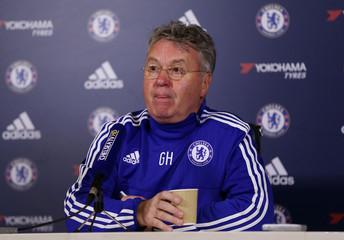 Chelsea - Guus Hiddink Press Conference