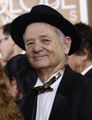 Actor Bill Murray arrives at the 72nd Golden Globe Awards in Beverly Hills