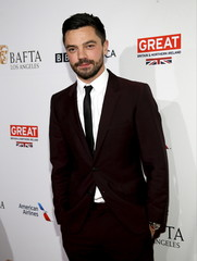 Actor Dominic Cooper poses at the BAFTA Los Angeles Awards Season Tea Party in Beverly Hills, California