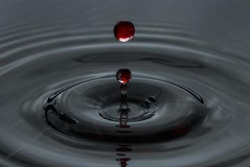 Blood droplet