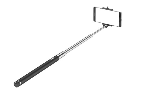 Smart phone and selfie stick