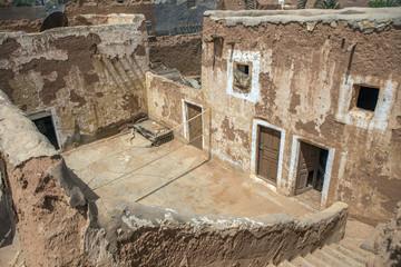 Saudi mud house