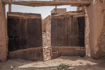 Saudi mud homes