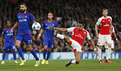 Arsenal v Olympiacos - UEFA Champions League Group Stage - Group F