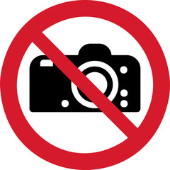 ISO 7010 P029 No photography
