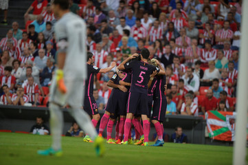 Football Soccer -  Athletic Bilbao v Barcelona